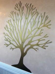 Декоративное дерево в г. Куровское