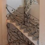 Кованые лестничные ограждения в г. Шатура