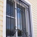 Кованые решетки на окна в г. Куровское
