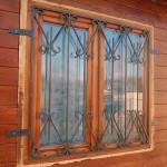 Кованые решётки на окна в дер. Авсюнино СНТ Меланжист