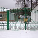 Кованые ворота в г. Ликино-Дулево