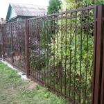 Кованый забор в дер. Анциферово