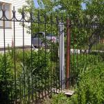Кованый забор в г. Куровское