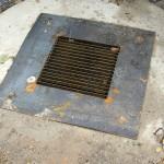 Крышка канализационного люка в г. Куровское