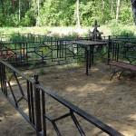 Ритуальная ограда в дер. Ашитково