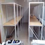 Стеллажи металлические для бытовой техники в г. Куровское