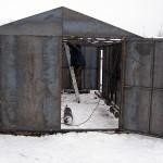 Гаражные ворота в г. Куровское