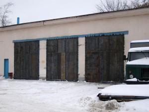 Промышленные ворота в г. Орехово-Зуево