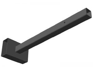 Кронштейн крепления провода схема